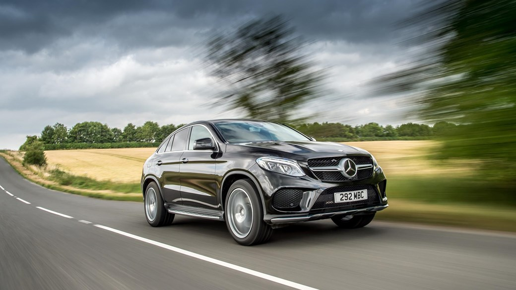 road test mercedes benz gle 350d coupe 4matic amg line trade locally. Black Bedroom Furniture Sets. Home Design Ideas