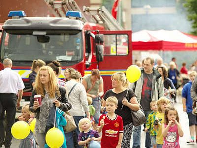 Emergency Services Day At Longton Park, Sunday 16th July 2017